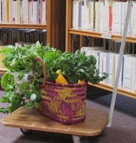 Les beaux légumes de la bibliothèque - la Nouvelle République | ce que j'aime dans les bibliothèques | Scoop.it