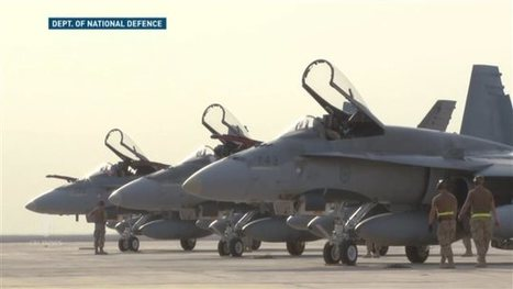 Canada to withdraw fighter jets bombing IS targets   Military Canada   Scoop.it