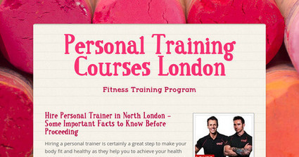 Personal Training Courses London | health and fitness | Scoop.it