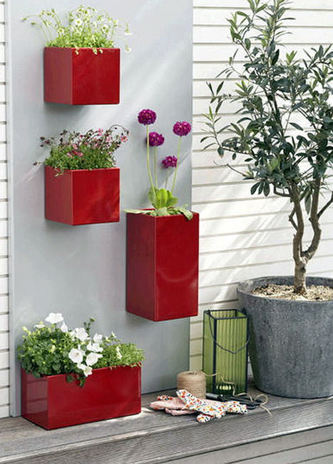 Three Cool Wall Planters | Urban Gardens | Unlimited Thinking For Limited Spaces | Urban Gardens | Annie Haven | Haven Brand | Scoop.it