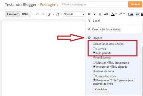 Como não permitir Comentários em artigos específicos do Blog - [ Ferramentas Blog ] | Linguagem Virtual | Scoop.it