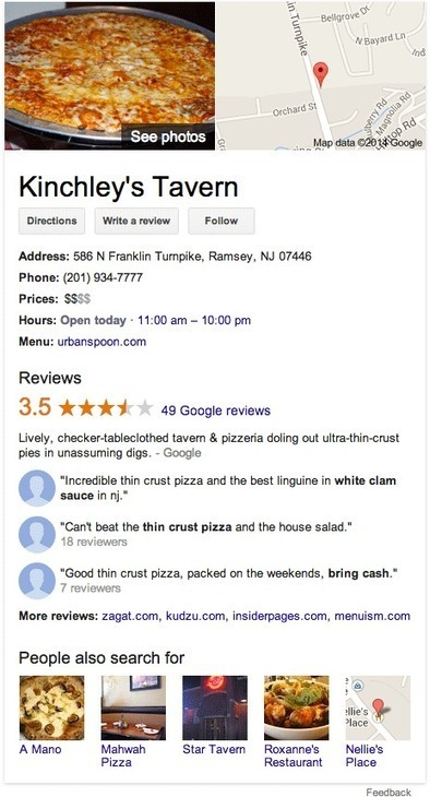 Full Reviews In Google Knowledge Graph   Digital-News on Scoop.it today   Scoop.it
