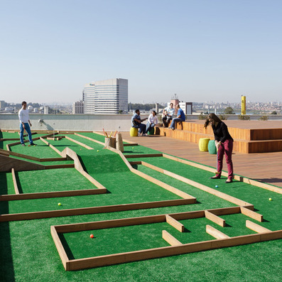 Walmart.com office in Brazil has a crazy golf course on the roof | bureau : espace innovant | Scoop.it