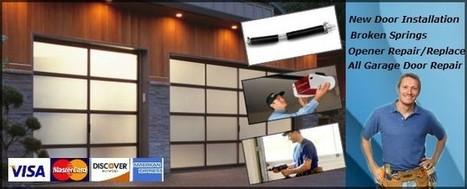 Garage Doors Springs Replacements | lewis65tgb | Scoop.it