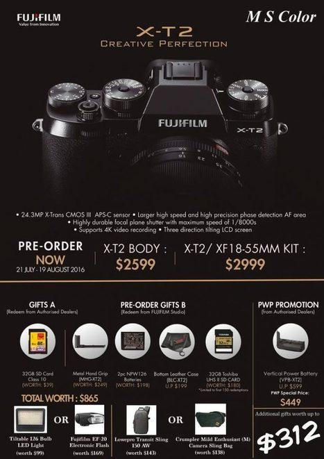 8 Notable Improvement on Fujifilm X-T2 - Xavier Lum | Fujifilm X Series APS C sensor camera | Scoop.it