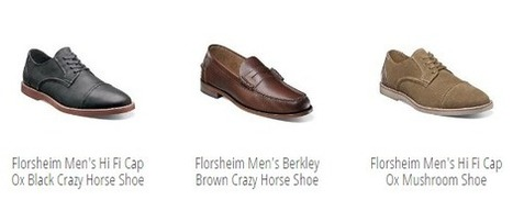 Latest Men's shoe collection from Stacy Adams, Hush Puppies and Florsheim | shoes online shop | Scoop.it