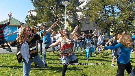 Flashmob au Lycée Pierre Mendès France de la Roche-sur-Yon. | Le Lycée PMF de la Roche sur Yon sur le web | Scoop.it