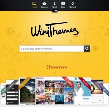 Banque de thèmes WordPress and co, WiniThemes | Alpha et Omega du Webdesign | Scoop.it