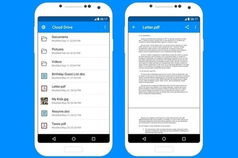 Amazon finally releases Cloud Drive mobile apps, but they're bare bones | Tech Latest | Scoop.it