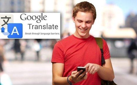 Google Traduction : une nouvelle mise à jour déployée - 1001Web | Word News | Scoop.it