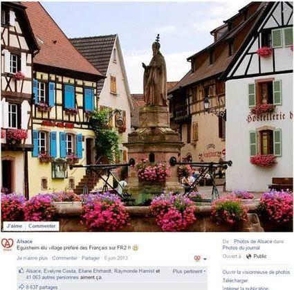 Le Social Media chez Tourisme Alsace | Animer une communauté Facebook | Scoop.it