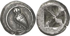 Monedas Antiguas: Las primeras monedas de Atenas, las Wappenmünzen | Cultura grecolatina | Scoop.it