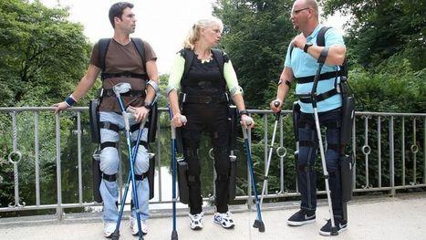 (Vidéo) Handicap : les exosquelettes font leur entrée dans le quotidien   Vous avez dit Innovation ?   Scoop.it