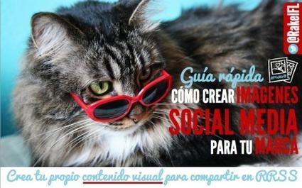 Imágenes social media: guía rápida para crear contenido visual para tu marca | Seo, Social Media Marketing | Scoop.it