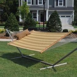 Double Hammock With Stand | Home Garden Furnitures | Scoop.it