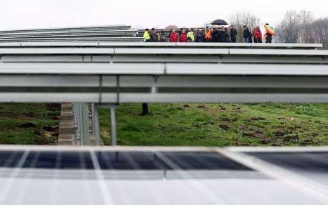 Ruffec: la centrale solaire couvre l'ancienne décharge [vidéo] | Lumo | Scoop.it