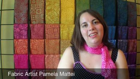 Fabric artist Pamela Mattei's work gains attention - The Courier-Journal | Design | Scoop.it