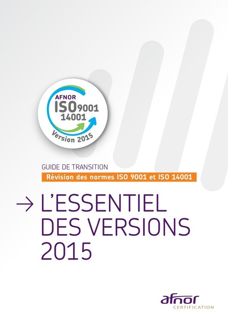 Guide de transition : Révision des normes | [avniR] : Pensée Cycle de Vie - ACV - éco-conception - affichage environnemental | Scoop.it