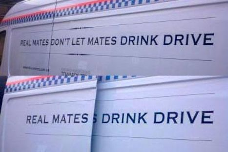 Red faces over sliding drink-drive slogan | Quite Interesting News | Scoop.it