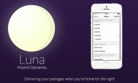 This late-night delivery service ships your packages when you're actually home | #VeilleDuJour | Scoop.it