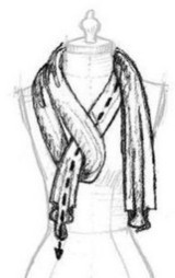 How To Tie A Scarf?   Buy Pashmina Shawls   Scoop.it