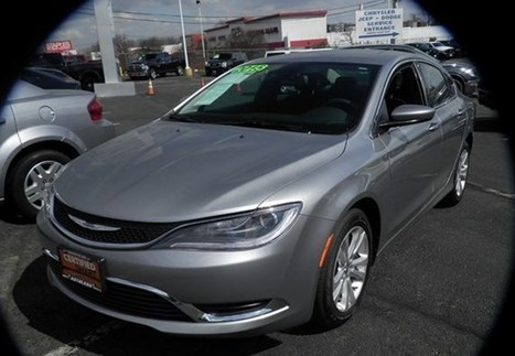 Used 2015 Chrysler 200 Limited | Toyota Models | Scoop.it