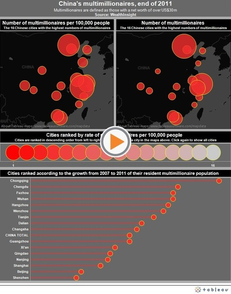 China's multi-millionaires mapped: where do the wealthy live? | Accoglienza turistica | Scoop.it