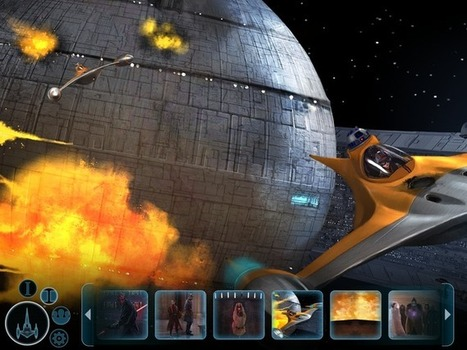 Feel the Force with 'Star Wars Journeys' app from Disney - CNET   Stories - an experience for your audience -   Scoop.it