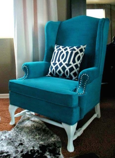 Painted Upholstery – The Process Revealed (Tutorial) | Unusual Ideas | Scoop.it