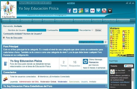 Sorprendente sitio de Educación Física 2.0 ~ Docente 2punto0 | educación física y deporte | Scoop.it