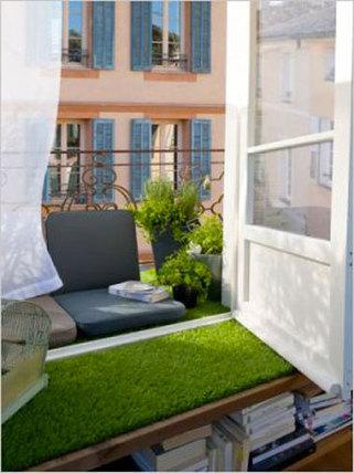 idées d'aménagement pour un balcon de verdure | Immobilier 2015 | Scoop.it