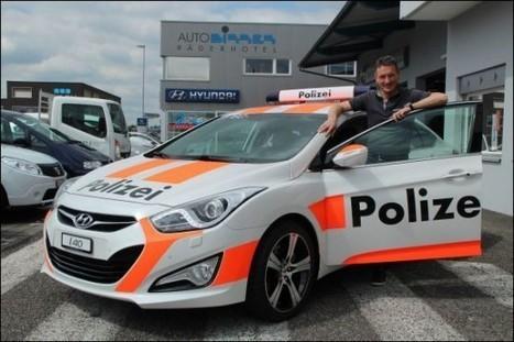 In Switzerland You Can Rent Fake Police Cars to Keep Burglars Away | Strange days indeed... | Scoop.it