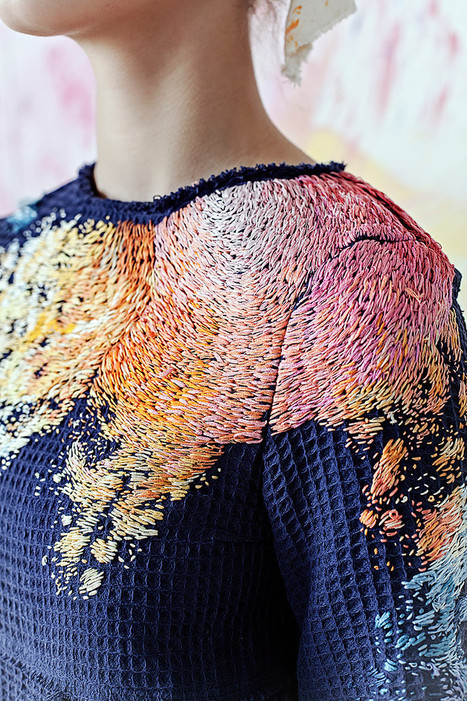 When Art & Fashion Collides | TEXTILES | Scoop.it