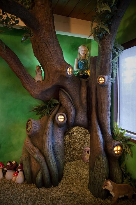 Una habitación DIY inspirada en los cuentos de hadas - Librópatas | Biblioteca escolar i LIJ | Scoop.it