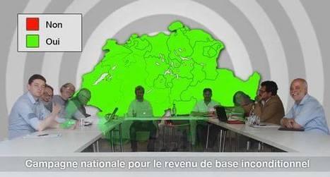 La campagne nationale est lancée #BIEN #Suisse #Switzerland #RBI #RevenuDeBase #Société | Infos en français | Scoop.it
