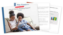 Report Finds Big Increase in Kids Reading eBooks, and Kids Who Read eBooks are Reading More... Especially Boys | AvatarGeneration | Scoop.it