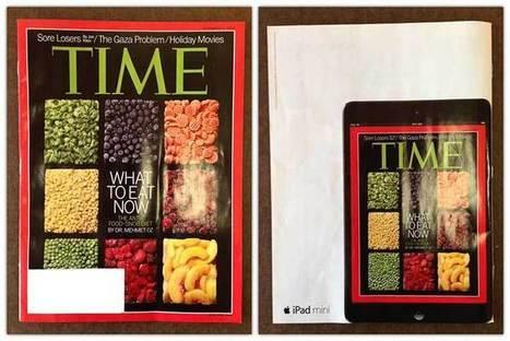 New iPad mini print ads highlight Newsstand, portability - Apple Insider | Digital all | Scoop.it