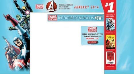 Marvel Comics Launching Largest Marketing Campaign In Their History In 2014 - Comicbook.com (blog)   creative writing   Scoop.it