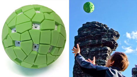 Big Like: Ball Camera Captures 360° Panoramas When Tossed into the Air   Tracking Transmedia   Scoop.it
