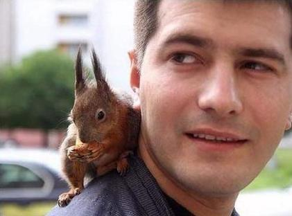 Soldier Saves a Squirrel | Compassion in Action | Scoop.it