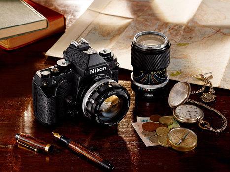 nikon's full-frame Df pays homage to retro 35mm film cameras - designboom   architecture & design magazine   MODERN TECH   Scoop.it