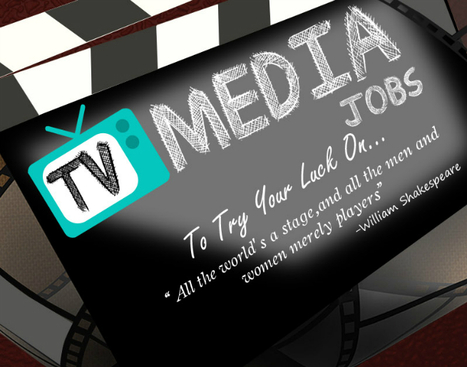 TV Media Jobs [Infographic]   Your Product News   Blogs   Scoop.it