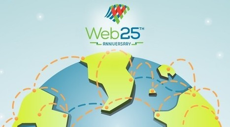Le Web a 25 ans, merci Tim Berners-Lee [Infographie] | Pros de la communication | Scoop.it