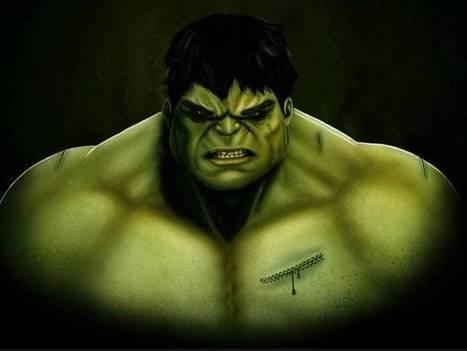 Dessiner l'Incroyable Hulk   Photoshop Tuto   Univers du web   Scoop.it