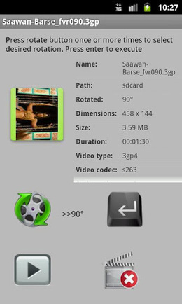 Fast Video Rotate v1.4 (paid) apk download | ApkCruze-Free Android Apps,Games Download From Android Market | apk android | Scoop.it