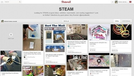 STEAM, a Pinterest Board | Library Learning | Scoop.it