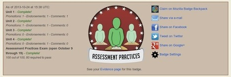 re-mediating assessment: The Varied Functions of Digital Badges in ... | The Daily Badger | Scoop.it