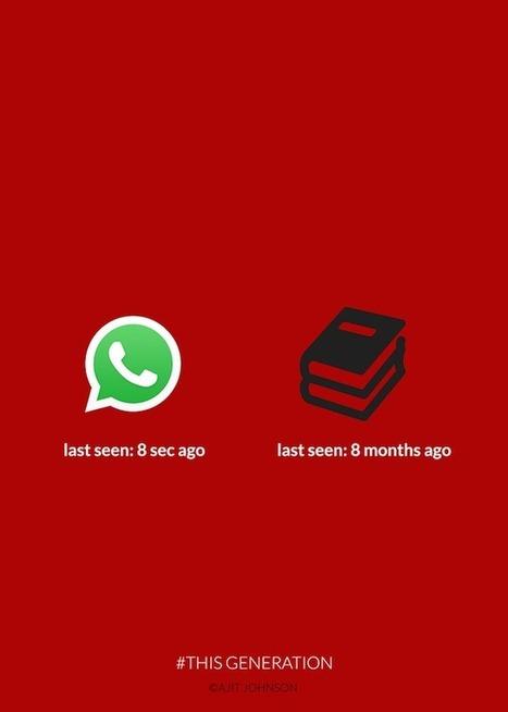 Notre addiction à la technologie illustrée #ThisGeneration | topic: jeunesse | Scoop.it