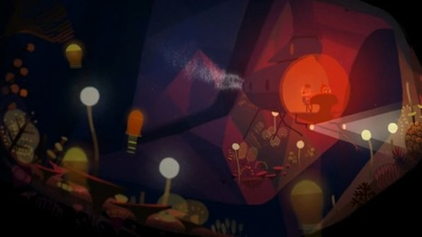 """Short animated film: """"Mon Ami le Robot""""/""""Playing With Light""""   Advancements in Light, AR Tech (Advertising, Media)   Scoop.it"""