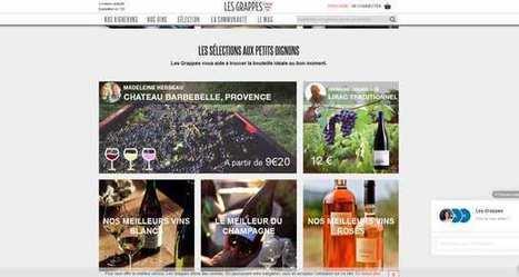 Les Grappes : le site pour acheter directement auprès des vignerons. | Le vin quotidien | Scoop.it